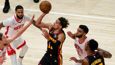 NBA Wk21: Rockets 95-124 Hawks