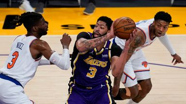 NBA Wk21: Knicks 99-101 Lakers (OT)