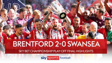 Brentford 2-0 Swansea