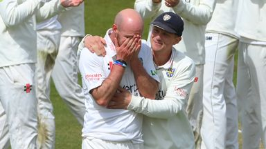 Emotional Rushworth breaks Durham record