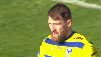 Clark with flying Warrington opener