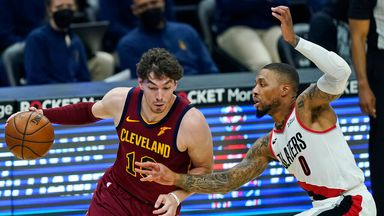 NBA Wk20: Trail Blazers 141-105 Cavaliers