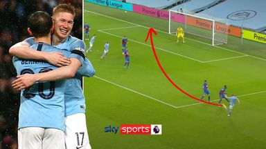 De Bruyne's best Premier League assists