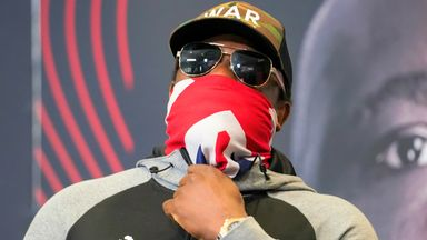 Chisora's mum resolves ring-walk row!