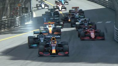 Perfect start for Verstappen in Monaco
