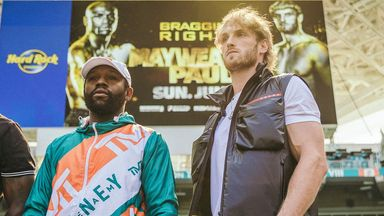'Mayweather v Paul will be huge'