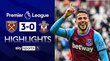 Fornals scores twice as Hammers seal sixth
