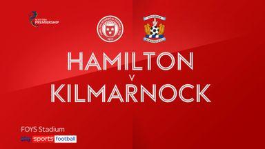 Hamilton 0-2 Kilmarnock