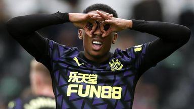 HT Fulham 0-1 Newcastle
