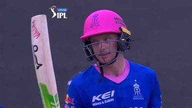 Highlights: Buttler thumps 124 in IPL