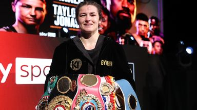 Taylor chasing Serrano for 'greatness'