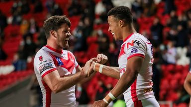 St Helens 28-0 Salford