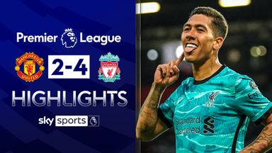 Liverpool beat Man Utd in six-goal thriller