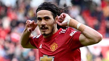 Cavani to return to Man Utd squad vs Villa