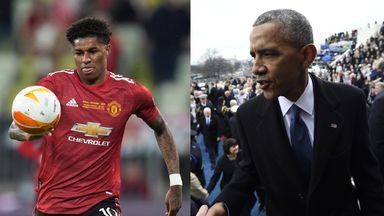 Obama: Rashford way ahead of me when I was 23