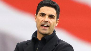 Arteta: Arsenal must move on from Ek bid
