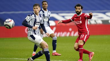 HT West Brom 1-1 Liverpool