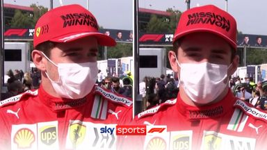 Leclerc delighted with 'amazing race'