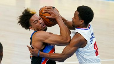 NBA Wk21: Clippers 112-117 Thunder