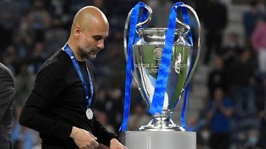 'Disappointment in Spain for Pep's CL final loss'