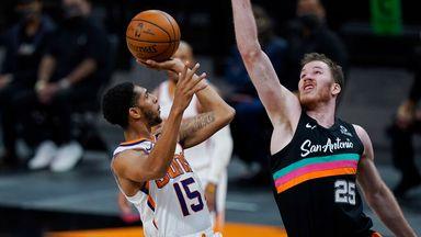 NBA Wk21: Suns 123-121 Spurs