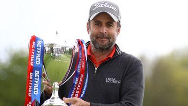 British Masters R4: Bland's winning round