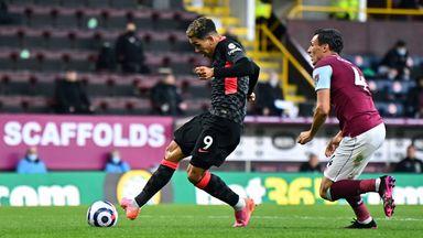 HT Burnley 0-1 Liverpool