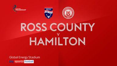 Ross County 2-1 Hamilton