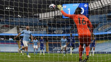 Aguero's Panenka penalty shocker from all angles