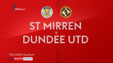 St Mirren 0-0 Dundee Utd