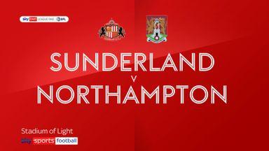 Sunderland 1-1 Northampton