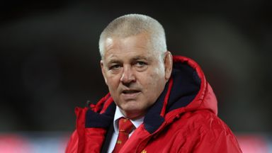 Gatland: You've got to back yourself