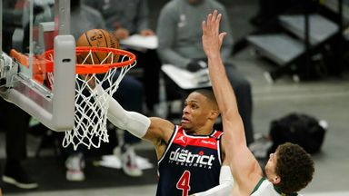 Westbrook triple-double not enough for Wizards
