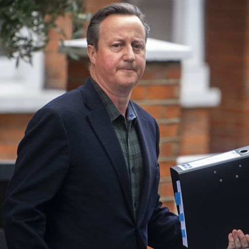 What is the lobbying scandal and why is David Cameron involved?