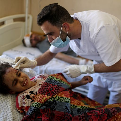 'We dread the nights': Life under Israeli bombardment