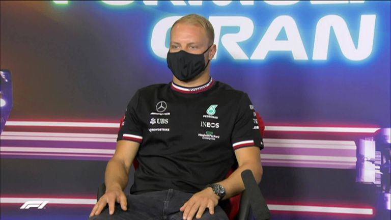 Valtteri Bottas insists there is no chance of George Russell replacing him in the Mercedes car this season