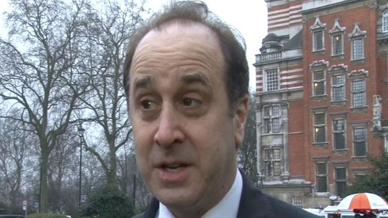 "Undated videograb taken from PA Video of Brooks Newmark, the minister responsible for David Cameron's Big Society drive, who is embroiled in a row after telling charities to ""stick to their knitting"" and keep out of politics."