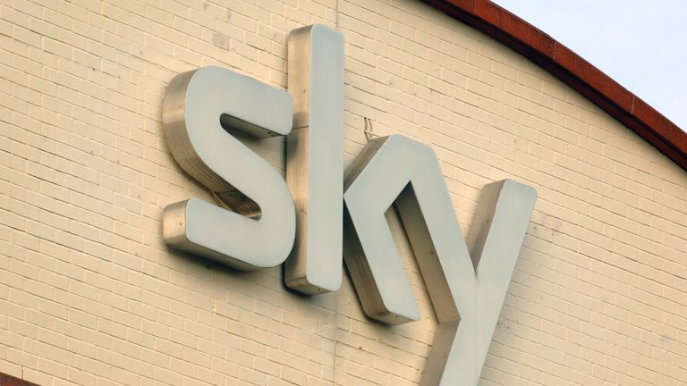 EMBARGOED TO 0001 MONDAY MAY 17 File photo dated 09/08/07 of the the Sky television logo on their offices Osterley, west London. Netflix, Sky and Bisha K Ali are supporting a new programme to support screenwriters from ethnic minorities. Issue date: Monday May 17, 2021.