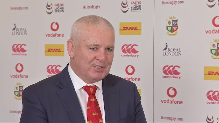 Warren Gatland explains the thinking behind the selection of his 37-man British and Irish Lions squad to face South Africa