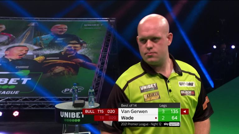 Check out this brilliant 135 checkout from Michael van Gerwen.