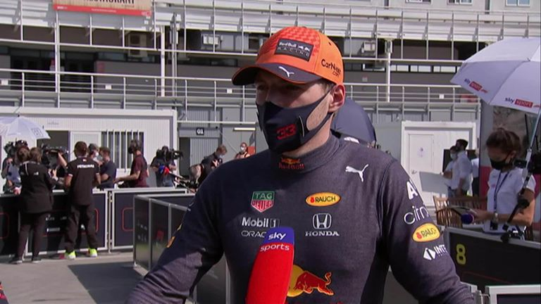 Red Bull's Max Verstappen felt he got all he could out of the car after finishing second in qualifying for the Spanish Grand Prix