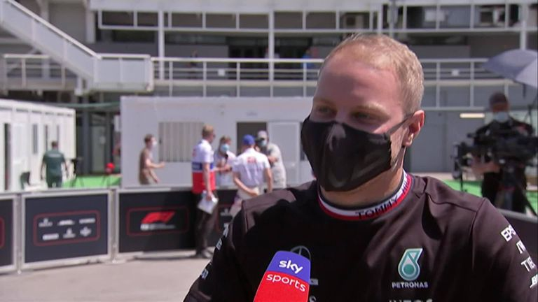 Valtteri Bottas says he is used to handling pressure at Mercedes and is determined to improve his form as he seeks his first win of the season in Spain.