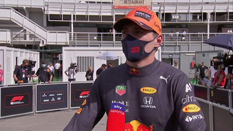 Red Bull's Max Verstappen feels Lewis Hamilton was quicker in his Mercedes and deserved to win the Spanish Grand Prix.