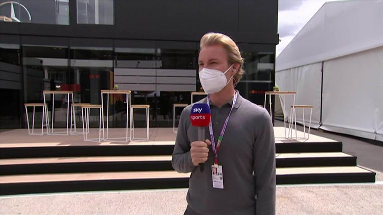 2016 F1 world champion Nico Rosberg gives his thoughts on the competition between Lewis Hamilton and Max Verstappen so far in the new season.