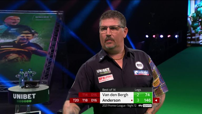 Watch this brilliant 146 checkout from Gary Anderson.