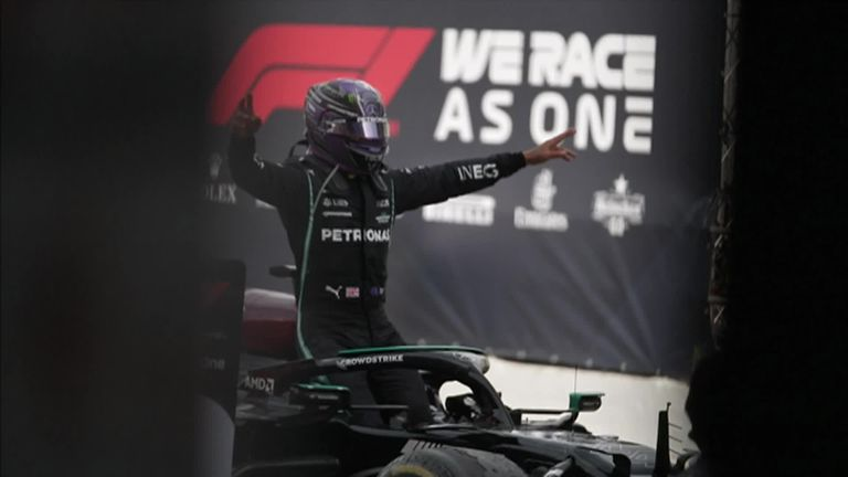 Lewis Hamilton was full of praise for his team's collaborative effort that saw him win his fifth-consecutive Spanish Grand Prix, extending his championship advantage over Max Verstappen to 14-points.