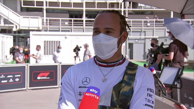 Lewis Hamilton still believes that the Red Bulls are quicker than the Mercedes heading into this weekend's Spanish Grand Prix
