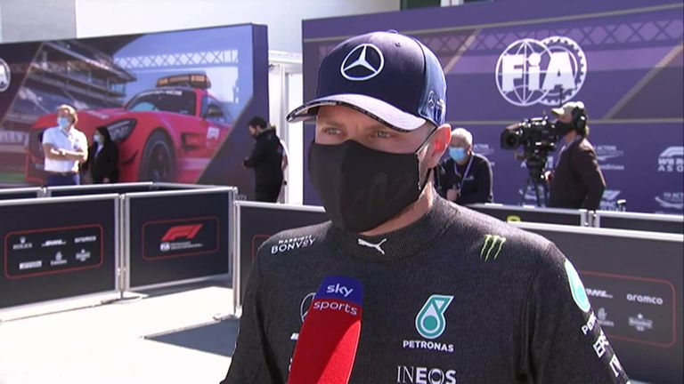 Valtteri Bottas says he's not concerned about suggestions that he may not be in the title battle with Lewis Hamilton and Max Verstappen this season.