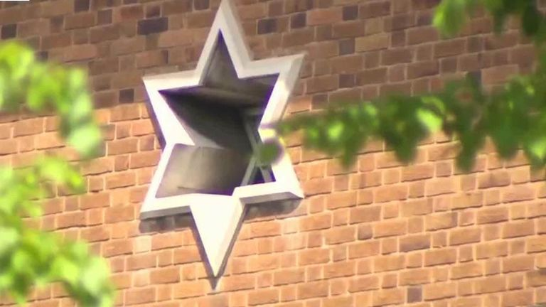 Four arrested over 'antisemitic' video