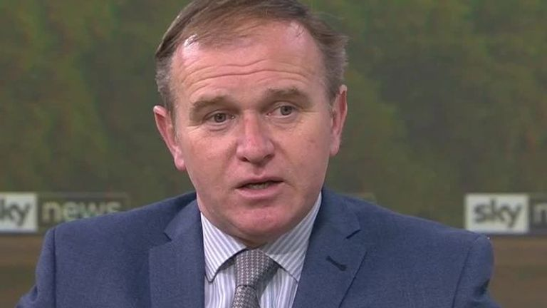 Environment secretary, George Eustice, has said the government can't completely rule out having to delay the easing of lockdown.